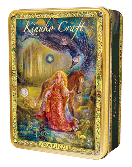 Kinuko Craft: Daughter of Exile - 1000pc Jigsaw in a Tin Puzzle By Masterpieces (discon)
