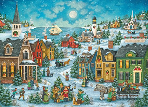 Harbor Side Carolers - 1000pc Jigsaw Puzzle By Masterpieces