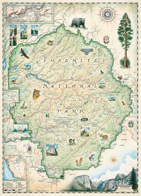 Xplorer: Yosemite - 1000pc Jigsaw Puzzle by Masterpieces