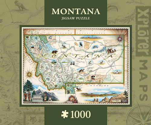 Xplorer: Montana - 1000pc Jigsaw Puzzle By Masterpieces