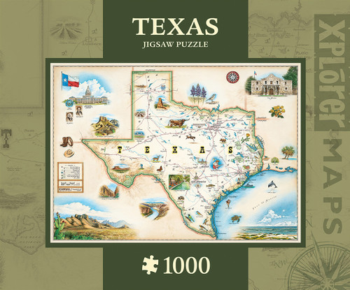 Xplorer: Texas - 1000pc Jigsaw Puzzle By Masterpieces