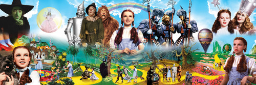The Wizard of Oz™: The Wizard of Oz - 1000pc Panoramic Jigsaw Puzzle by Masterpieces