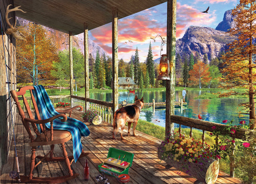 Time Away: Sunset Ritual - 1000pc Jigsaw Puzzle by Masterpieces