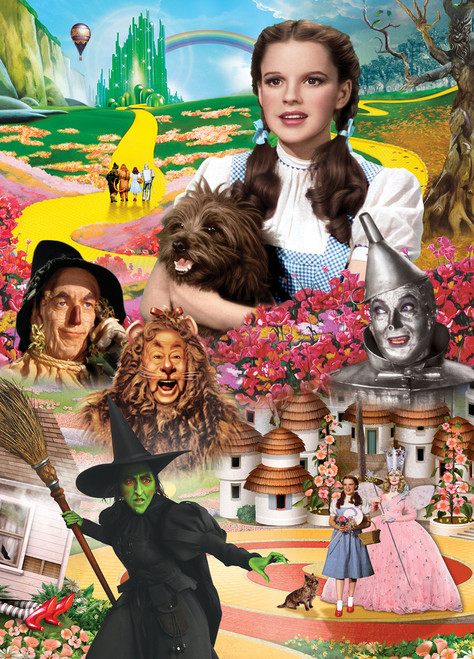 The Wizard of Oz™: Book Box - 1000pc Jigsaw Puzzle by Masterpieces