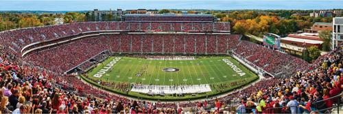 Panoramic Jigsaw Puzzles - University of Georgia: Sanford Stadium