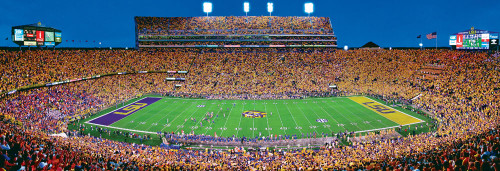 Panoramic Jigsaw Puzzles - Louisiana State University: Death Valley