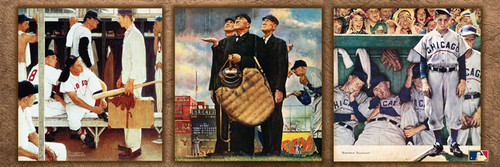 Panoramic Jigsaw Puzzles - Norman Rockwell Baseball