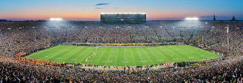 Panoramic Jigsaw Puzzles - University of Notre Dame