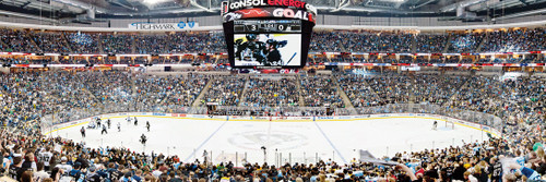 NHL: Pittsburgh Penguins - 1000pc Panoramic Jigsaw Puzzle by Masterpieces