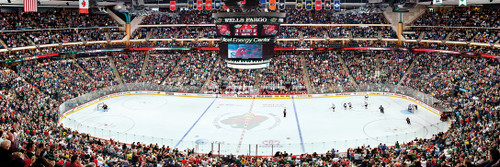 NHL: Minnesota Wild - 1000pc Panoramic Jigsaw Puzzle by Masterpieces