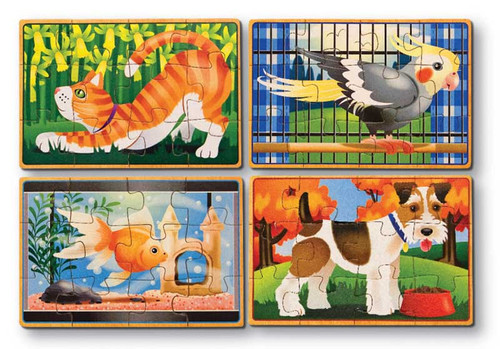 Wooden Jigsaw Puzzles - Pets