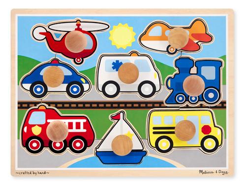 Melissa & Doug Vehicles Jigsaw Puzzle