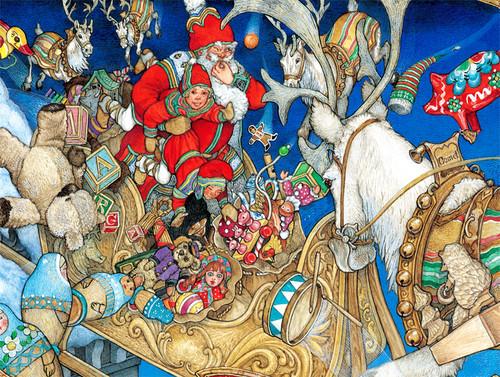 Jigsaw Puzzles - Santa's Toys