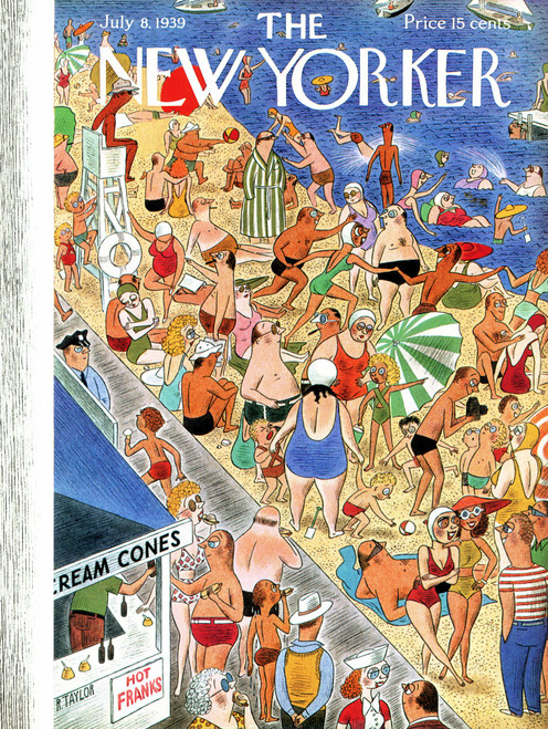 New York City Puzzle - Beachgoing