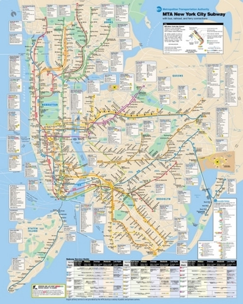 New York City Subway 500pc Jigsaw Puzzle By New York Puzzle Co