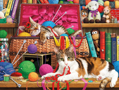Comfy Spot - 750pc Jigsaw Puzzle by Buffalo Games