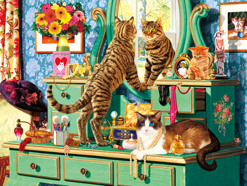 Cats: Picture Purrfect - 750pc Jigsaw Puzzle By Buffalo Games
