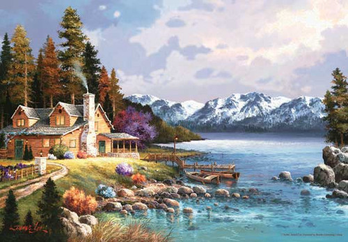 Perre Jigsaw Puzzles - Mountain Cabin