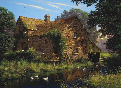 Perre Jigsaw Puzzles - By The Stream