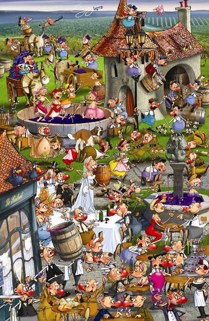 Hard Jigsaw Puzzles - Story of Wine
