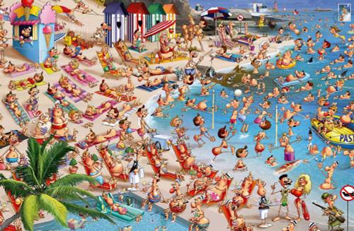 Hard Jigsaw Puzzles - Beach