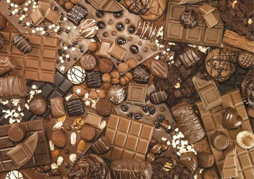 Chocolate - 1000pc Jigsaw Puzzle by Piatnik