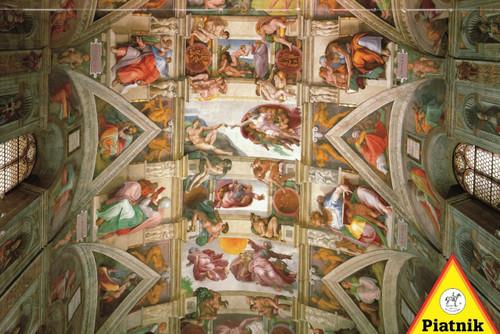 Piatnik Sistine Chapel Jigsaw Puzzle
