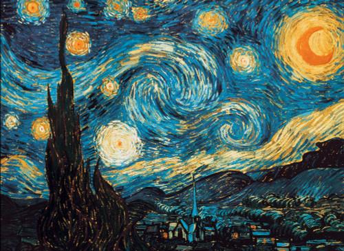 Van Gogh: Starry Night - 1000pc Jigsaw Puzzle by Piatnik