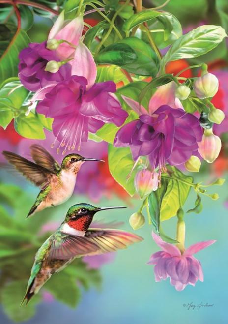 Hummingbirds - 1000pc Jigsaw Puzzle by Piatnik