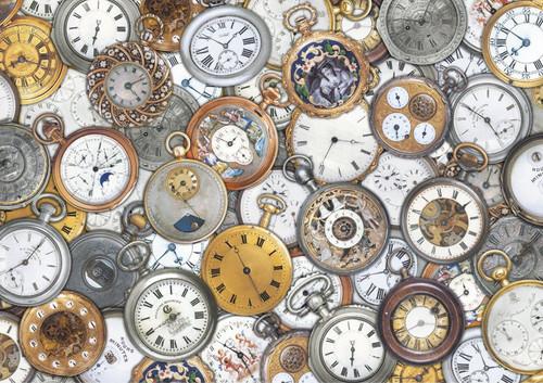 Timepieces - 1000pc Jigsaw Puzzle by Piatnik