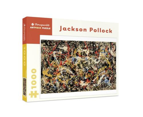 Jackson Pollock: Convergence - 1000pc Jigsaw Puzzle by Pomegranate