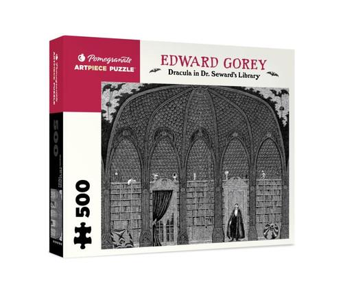 Pomegranate Gorey: Dracula in Dr. Seward's Library 500-piece Jigsaw Puzzle
