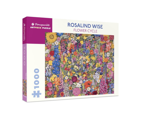 Flower Cycle - 1000pc Jigsaw Puzzle by Pomegranate