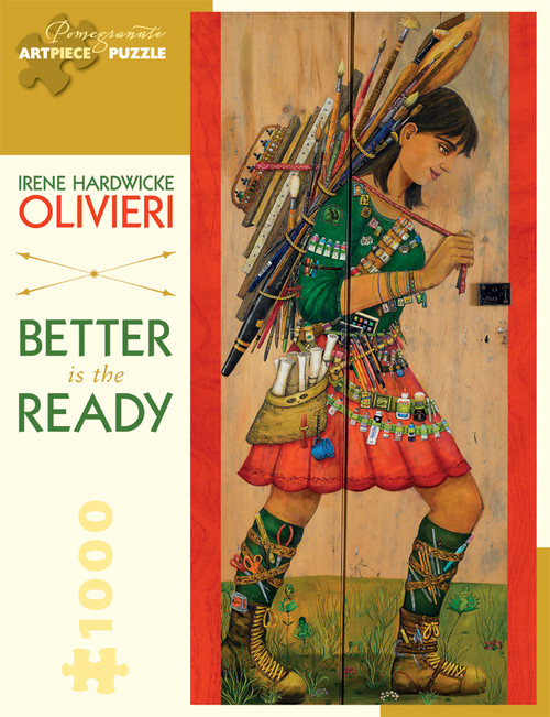 Pomegranate Olivieri: Better is Ready 1000-piece Jigsaw Puzzle