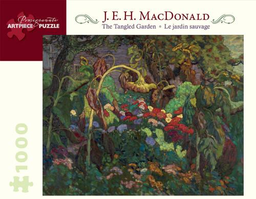 Pomegranate MacDonald: Tangled Garden 1000-piece Jigsaw Puzzle