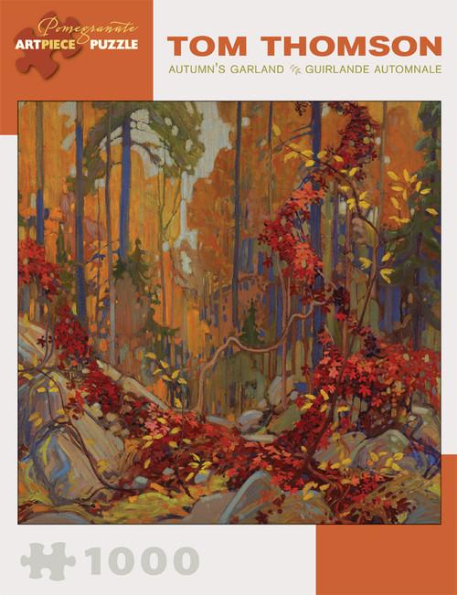 Pomegranate Thomson: Autumn's Garland 1000-piece Jigsaw Puzzle