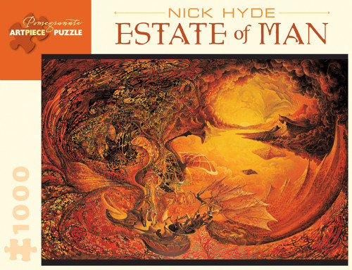 Pomegranate Hyde: Estate of Man 1000-piece Jigsaw Puzzle