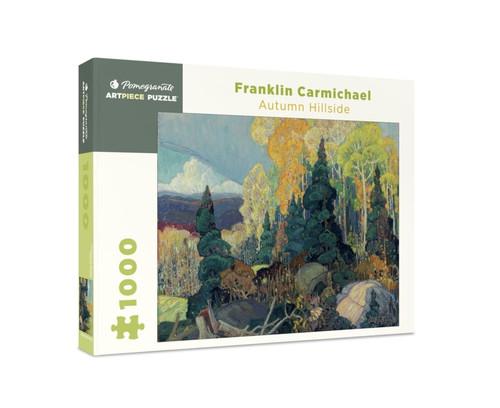 Pomegranate Carmichael: Autumn Hillside 1000-piece Jigsaw Puzzle