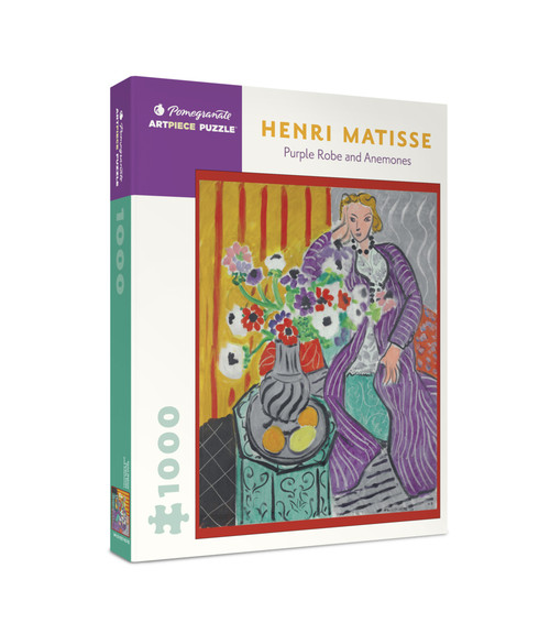 Pomegranate Matisse: Purple Robe and Anemones 1000-piece Jigsaw Puzzle
