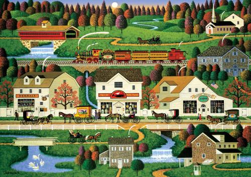 Americana: Yankee Wink Hollow - 500pc Jigsaw Puzzle by Buffalo Games