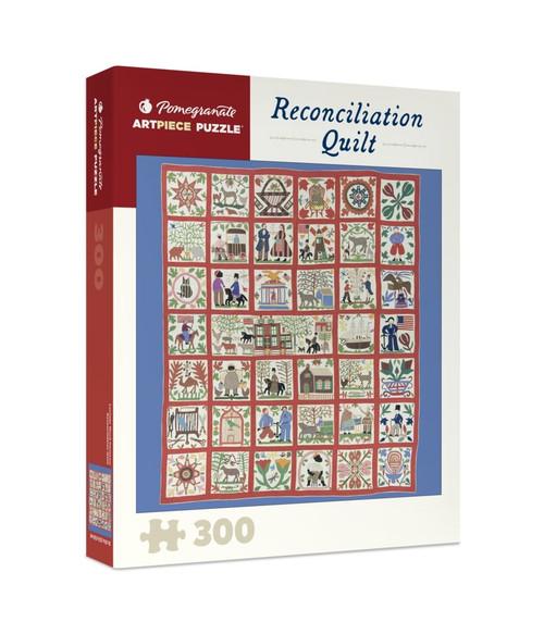 Pomegranate Reconcilliation Quilt 300-piece Jigsaw Puzzle