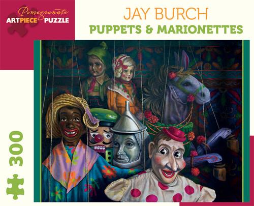 Pomegranate Burch: Puppets 300-piece Jigsaw Puzzle