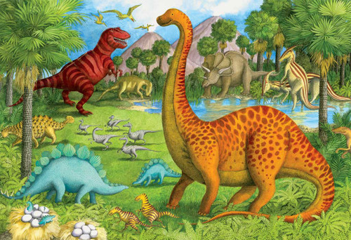 Floor Jigsaw Puzzles For Kids - Dinosaur Pals