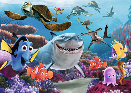 Pixar: Finding Nemo: Smile! - 60pc Giant Jigsaw Floor Puzzle by Ravensburger