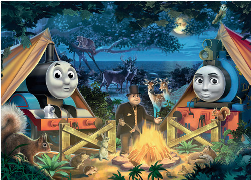 Thomas and Friends: Thomas Camps - 60pc Jigsaw Floor Puzzle By Ravensburger