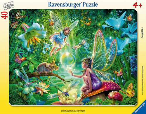 Fairy Magic - 40pc Frame Puzzle by Ravensburger