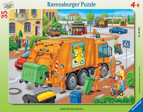 Jigsaw Puzzles for Kids - Waste Collection