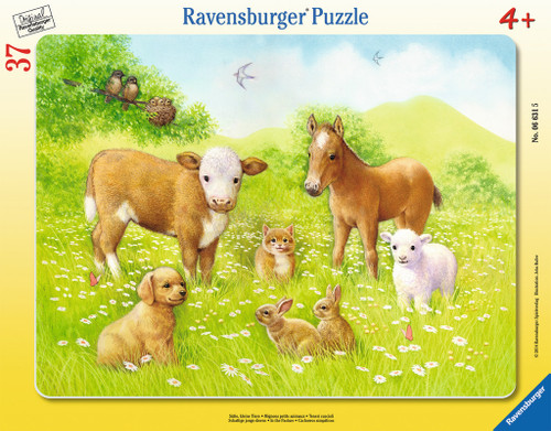 Jigsaw Puzzles for Kids - In the Pasture
