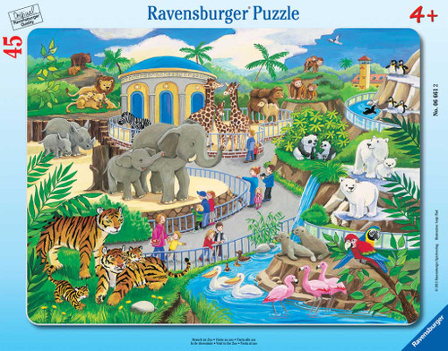 Jigsaw Puzzles for Kids - Visit to the Zoo