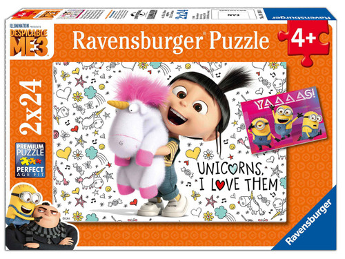 Despicable Me 3 - 2x24 pc Jigsaw Puzzle by Ravensburger